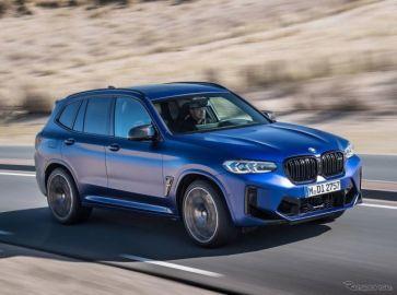 BMW X3 に改良新型に頂点「M」、510馬力ツインターボの「コンペティション」のみに…欧州発表
