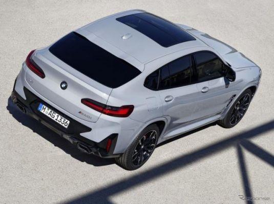 BMW X4 に改良新型、SUVクーペがスポーツ性を強化…欧州発表