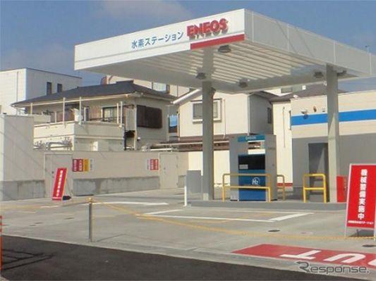 ENEOS、川崎にオンサイト式水素ステーションをオープン 東京五輪大会車両に供給