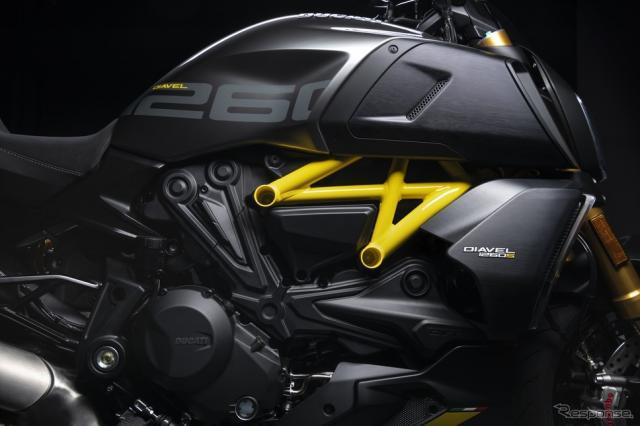 ドゥカティ・ディアベル 1260 S 「ブラック&スチール」《photo by Ducati》