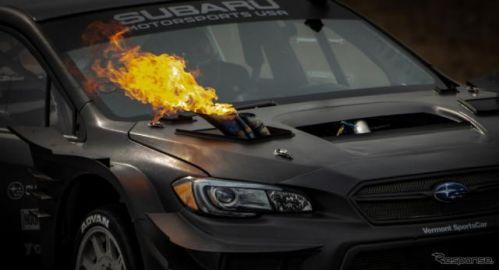 ワイルドすぎるスバル WRX STI、ヒルクライムに挑む…グッドウッド2021に参加予定