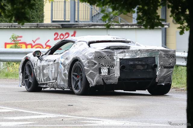 フェラーリが開発するコードネーム「Progetto F171」(スクープ写真)《APOLLO NEWS SERVICE》