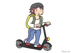 キックボードは「軽車両」に該当せず「歩行者」…グレーゾーンで事業予定者に回答
