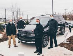 ジープ グランドチェロキー L 新型、米国の新工場で生産開始