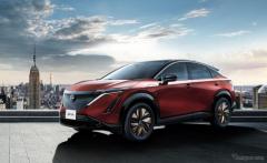 【日産 アリア 発売】10日で4000台を受注、1番人気は大容量バッテリーの4WD