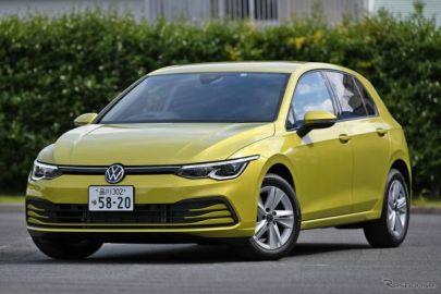 【VW ゴルフ 新型】初代から受け継ぐCピラー健在、1Lエンジン&48Vの「Active」[詳細画像]