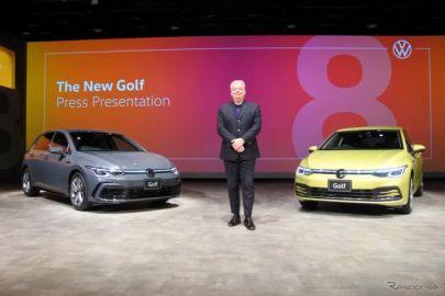 【VW ゴルフ 新型】日本法人社長「高品質かつ最新のデジタル機能を実現」