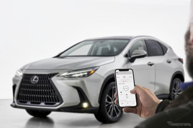 米トヨタがレクサス NX 新型から採用する新世代マルチメディアシステム《photo by Lexus》