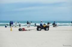 15周年のホンダビーチクリーン活動、参加者は年間7000人に拡大…技術の力で素足で歩ける砂浜を次世代に