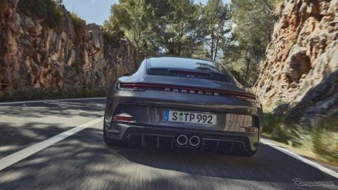 ポルシェ 911 GT3 新型に「ツーリングパッケージ」、リアウイングを廃止…欧州発表
