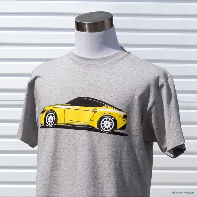 日産フェアレディZプロトタイプ・デザインTシャツ《写真提供 ワキプリントピア》