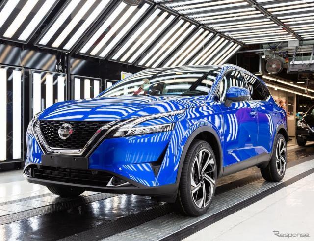 英国サンダーランド工場で生産が開始された日産 キャシュカイ 新型《photo by Nissan》