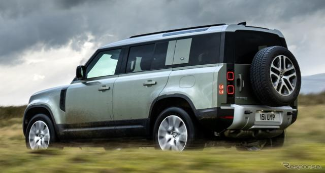 ランドローバー・ディフェンダー 新型のPHV「P400e」(参考)《photo by Land Rover》