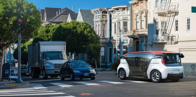 GMの自動運転車開発部門クルーズの自動運転車「クルーズ・オリジン」《photo by GM》