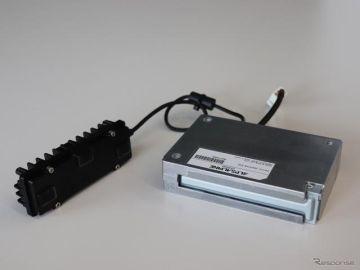 アルプスアルパインの障害物検知ユニット、福伸電機の次世代電動カートに採用