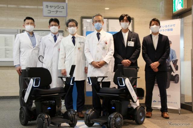 大阪大学医学部附属病院《写真提供 WHILL》