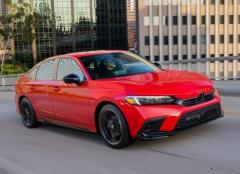 ホンダ シビックセダン 新型に「スポーツ」、自然吸気の2.0Lエンジン搭載…米国発売