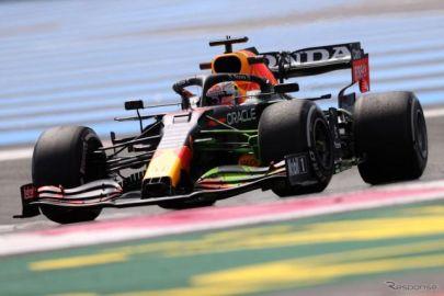 【F1 フランスGP】フリー走行2回目はレッドブル・ホンダのフェルスタッペンがトップタイム