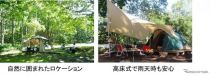 コース3:キャンピング(群馬県嬬恋鹿沢)《写真提供 日産自動車》