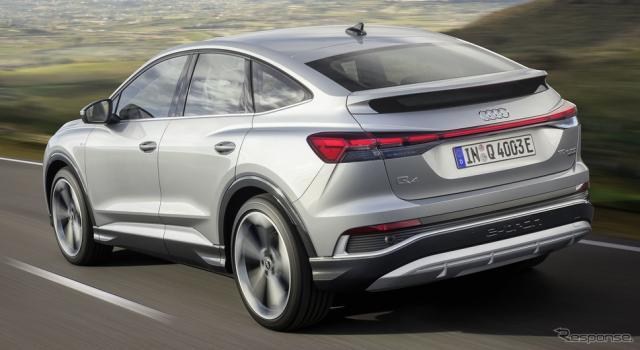 アウディ Q4 e-tron スポーツバック《photo by Audi》