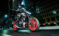 ヤマハ MT-07 改良新型発売へ、次世代MTシリーズのスタイリングに刷新