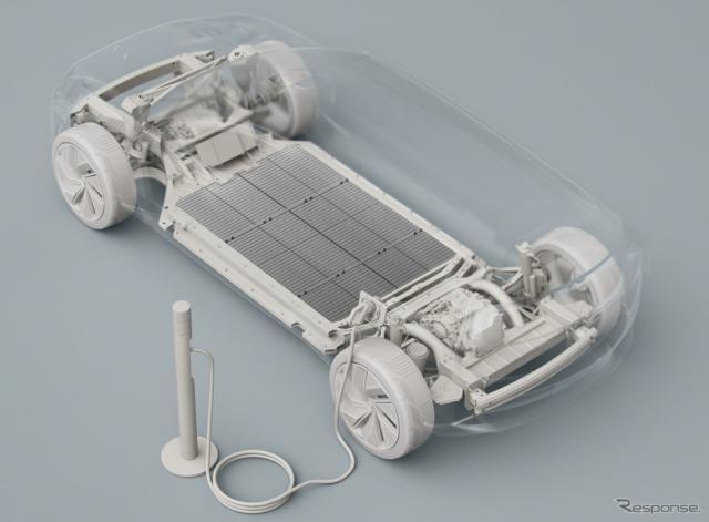 ボルボカーズの次世代のEV向けバッテリーのイメージ《photo by Volvo Cars》