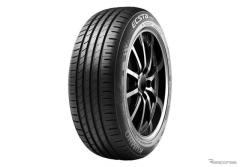 クムホ、ルノー アルカナ の新車装着用タイヤにECSTA HS51を単独供給