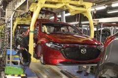 マツダ、半導体不足で防府第1工場の操業を停止 7月5日から16日まで