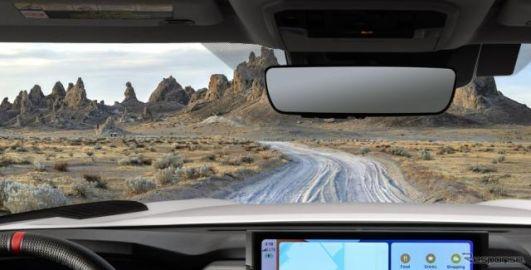 トヨタ タンドラ 新型、インテリアの写真公開…ワイドディスプレイ採用