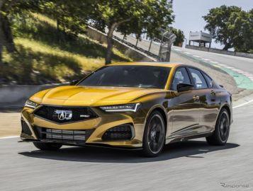 アキュラ TLX 新型に「タイプS」、355馬力の専用V6ターボの詳細発表…6月24日米国発売