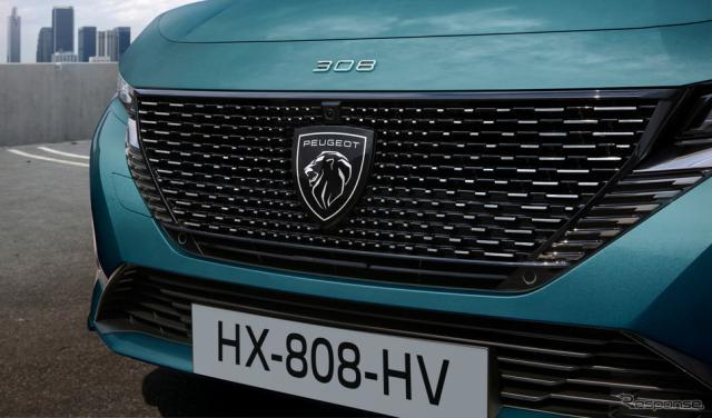 プジョー308SW新型のPHV《photo by Peugeot》