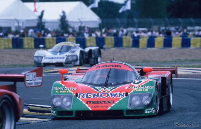 1991年のルマン24時間レースを制した#55 マツダ787B。《写真提供 MAZDA》