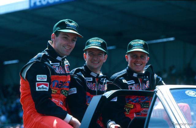 1991年のルマン24時間レース《写真提供 MAZDA》