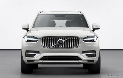 ボルボの最上位SUV、『XC90』後継車はEVに…2022年発表予定