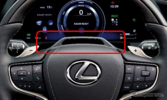 ドライバーモニターシステム(カメラ)《写真提供 トヨタ自動車》