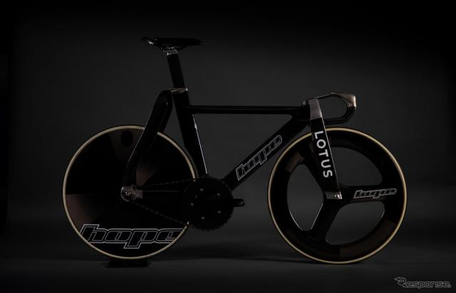 ロータスカーズが「東京2020オリンピック」に参加する英国代表チームのために共同開発したトラックレース用自転車《photo by Lotus Cars》