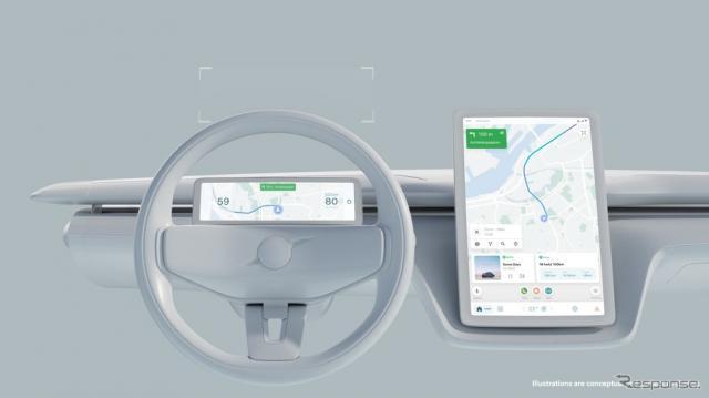 ボルボカーズとグーグルが共同開発する将来のユーザーエクスペリエンス技術《photo by Volvo Cars》