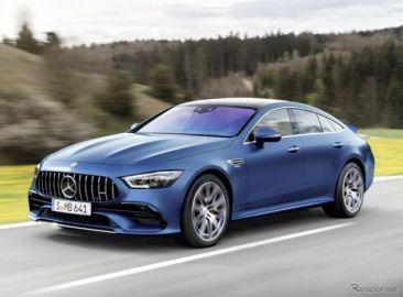 メルセデスAMG GT 4ドアクーペ、高性能48Vマイルドハイブリッド搭載…2021年型を欧州受注開始