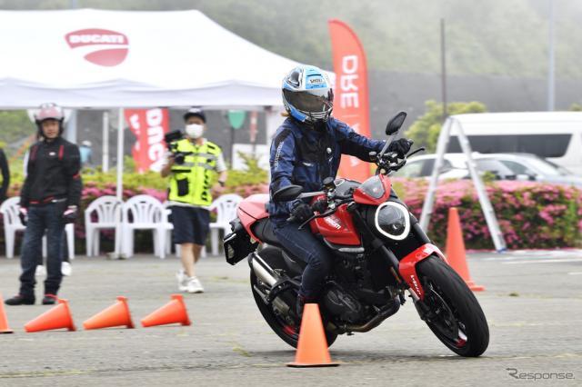 ドゥカティが日本で初めて開催した「Ducati Riding Experience Road Academy」《写真撮影 雪岡直樹》