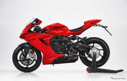 MVアグスタ F3ロッソ 登場、スポーツ走行の追求と提供…価格は239万8000円