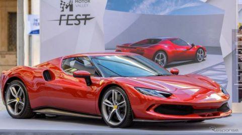 フェラーリ市販車初のV6エンジン搭載、『296GTB』は新世代PHV…実車を発表