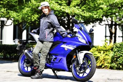 【ヤマハ YZF-R25 試乗】若者人気も納得、懐の広いバイクです…小鳥遊レイラ