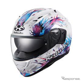和柄デザインのヘルメット、OGK『カムイ-3』に新グラフィック