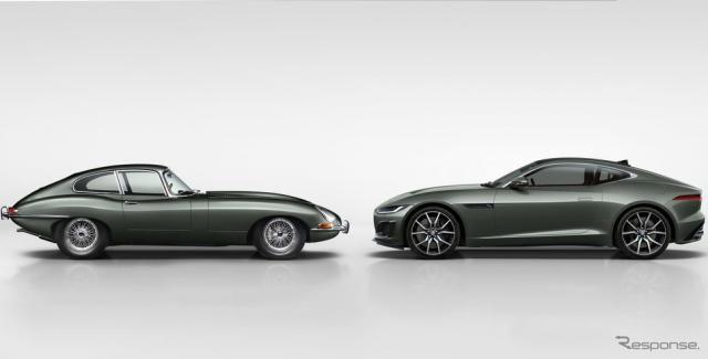 ジャガー Fタイプ に名車「Eタイプ」誕生60周年記念車…グッドウッド2021のヒルクライム出走へ