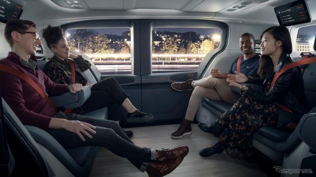 完全自動運転化の前に訪れる混合社会。事故での怪我はどう変わるのか。写真はGMの自動運転車「クルーズ・オリジン」《photo by GM》