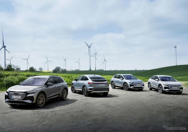 アウディ Q4 e-tron と Q4 スポーツバック e-tron《photo by Audi》