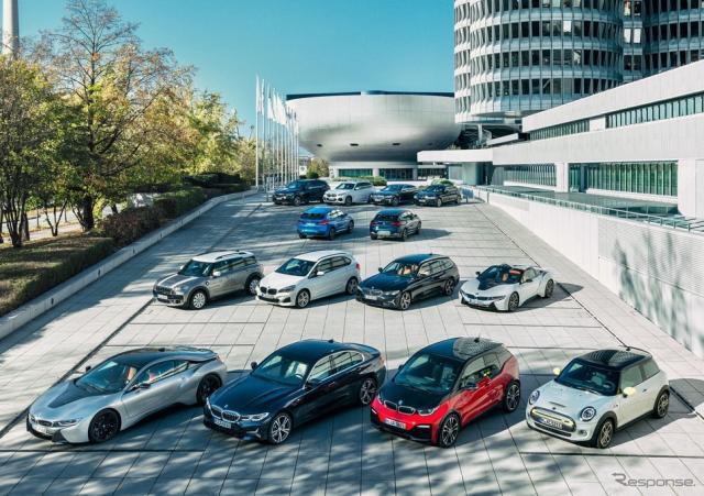 BMWグループの電動車両《photo by BMW》