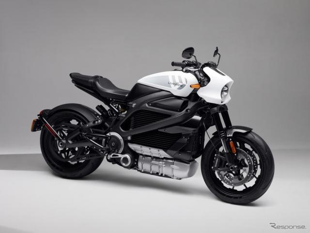 ハーレーダビッドソンの新電動ブランド、「ライブワイヤー」のライブワイヤー・ワン《photo by Harley-Davidson》