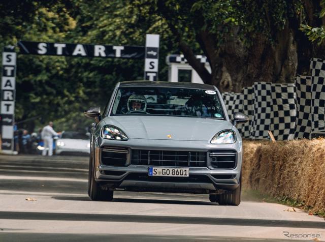 ポルシェ・カイエン・ターボ GT(グッドウッド2021)《photo by Porsche》