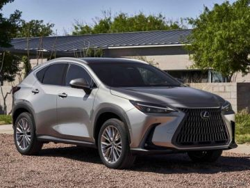 レクサス NX 新型、米国仕様車を発表へ…シカゴモーターショー2021